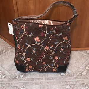 Maxx New York Floral pattern handbag